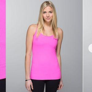 Lululemon Cool Racerback In Pow Pink Size 6